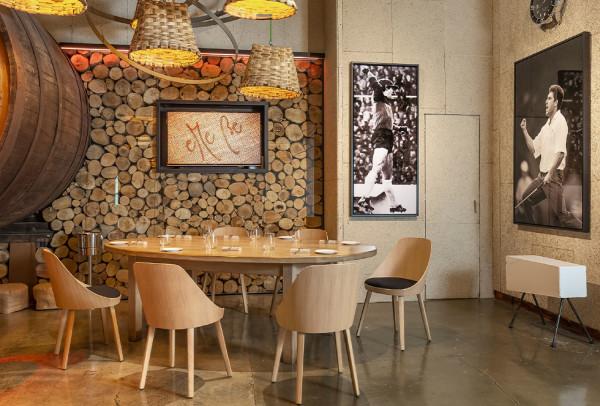 Židle Kaiak <br> v restauraci <br> eMe Be Garrote