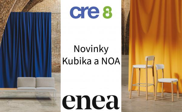 Nové sezení a židle od ENEA
