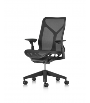 Herman Miller | Cosm - Mid back, fully equipped, graphite