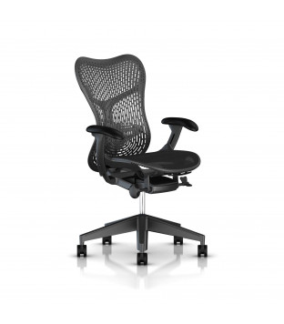 Herman Miller | Mirra - Triflex, fully equipped, graphite