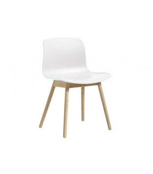 HAY | AAC 12 - white, solid oak lacquered matt